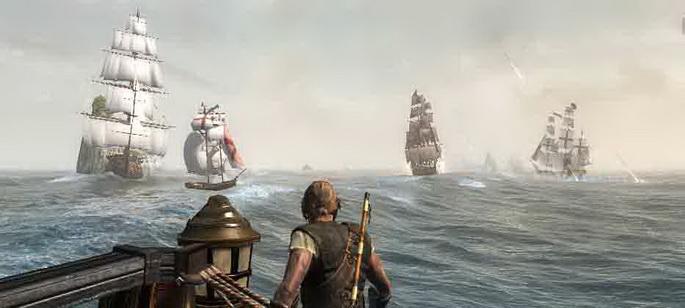 Корабли в Assassin's Creed IV: Black Flag.